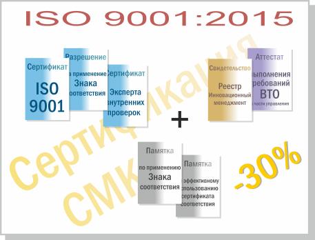 цена Гост ИСО 9001 2015 в Междуреченске